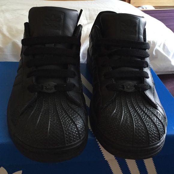 Amper Kinderen Versleten Adidas 3 Sneakers Maat Superstar 2 Zwart qSSUa0w