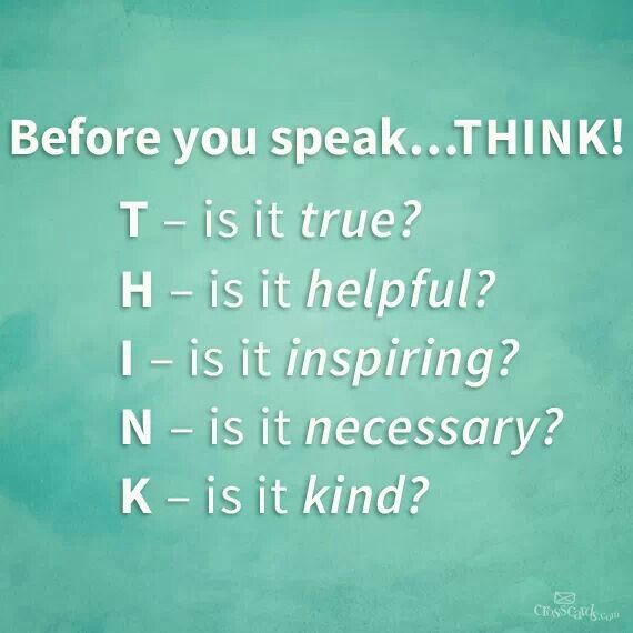 75+ Always Think Before You Speak Quotes