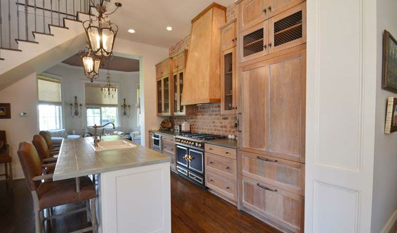Banak Wood Kitchen And Custom Cypress Counter Top By Jackson