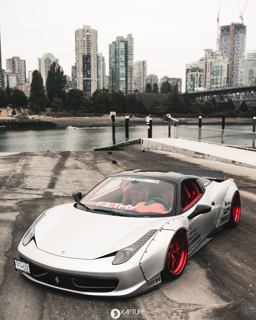 Doczilla Liberty Walk Ferrari 458 Spider With Images Liberty