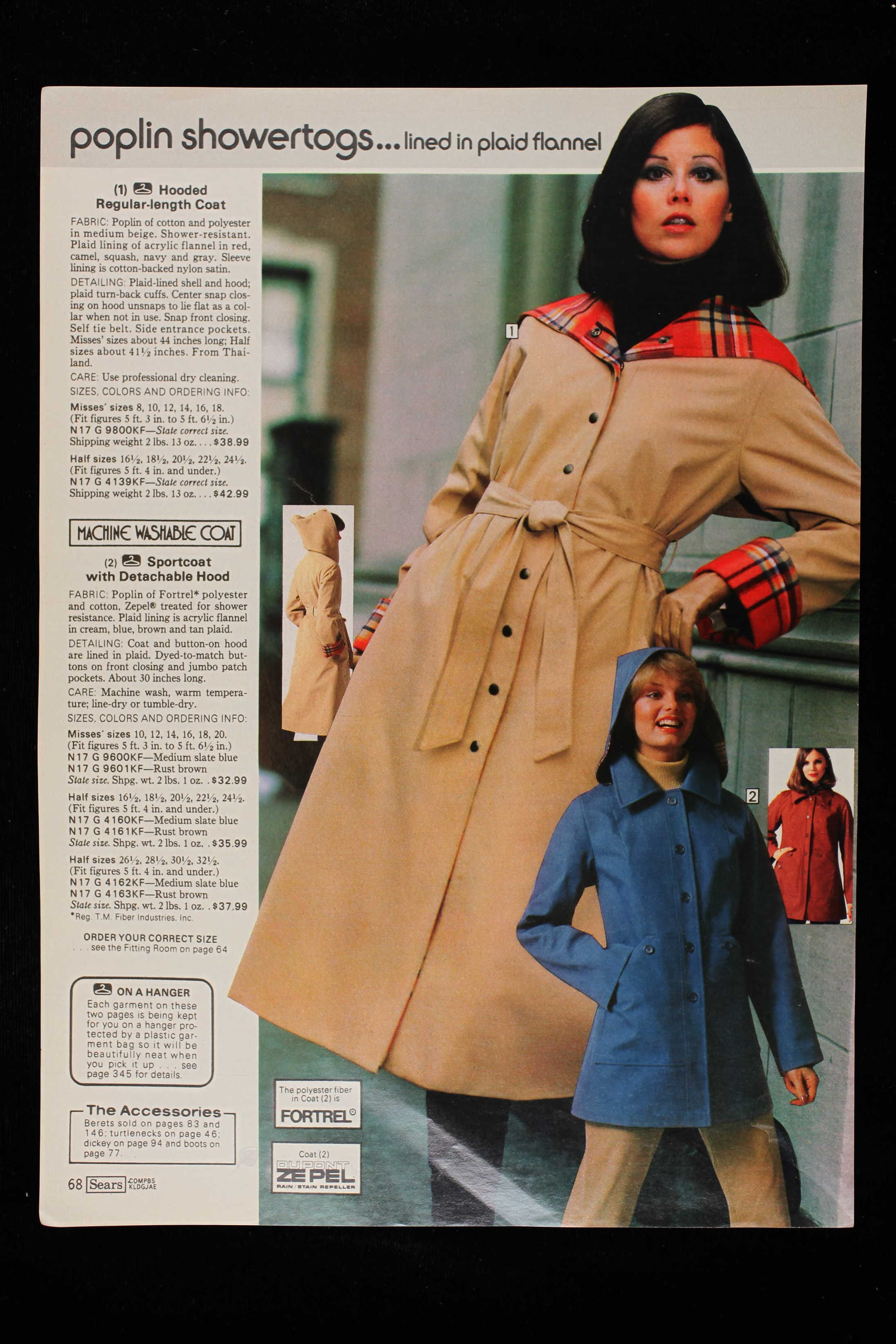 a8cf3b856 1977 Sears Fall Winter pg 68/ Colleen Corby m | Colleen Corby ...