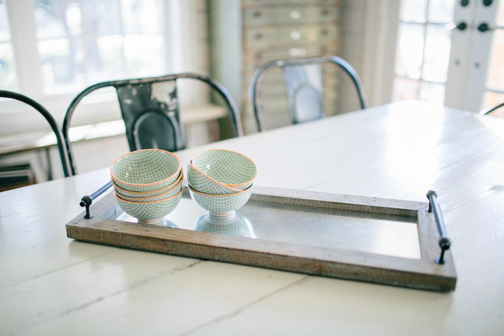 Love it. Looks easy enough to make.  Wood Framed Tray   The Magnolia Market