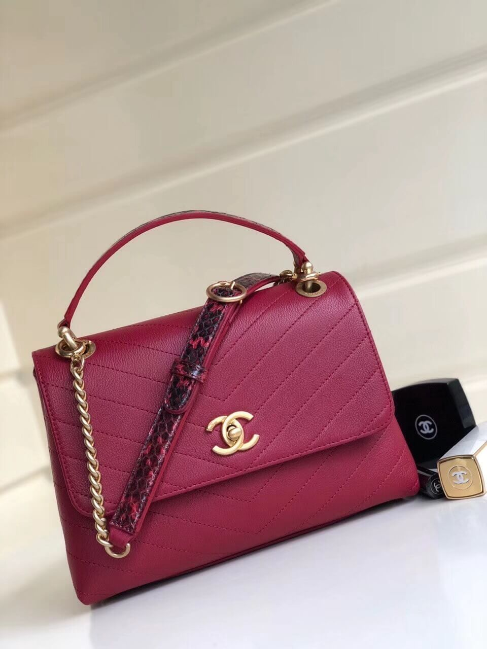 98722a726753 Chanel Bags on Sale  Chanel Small Top Handle Bag 100% Authentic 80% Off