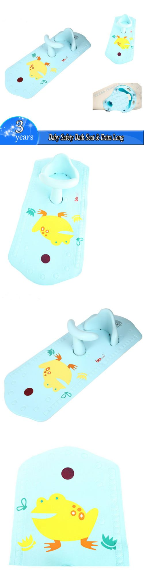 Baby Safety Bath Seat Extra Long Non-Slip Bath Mat with Heat ...