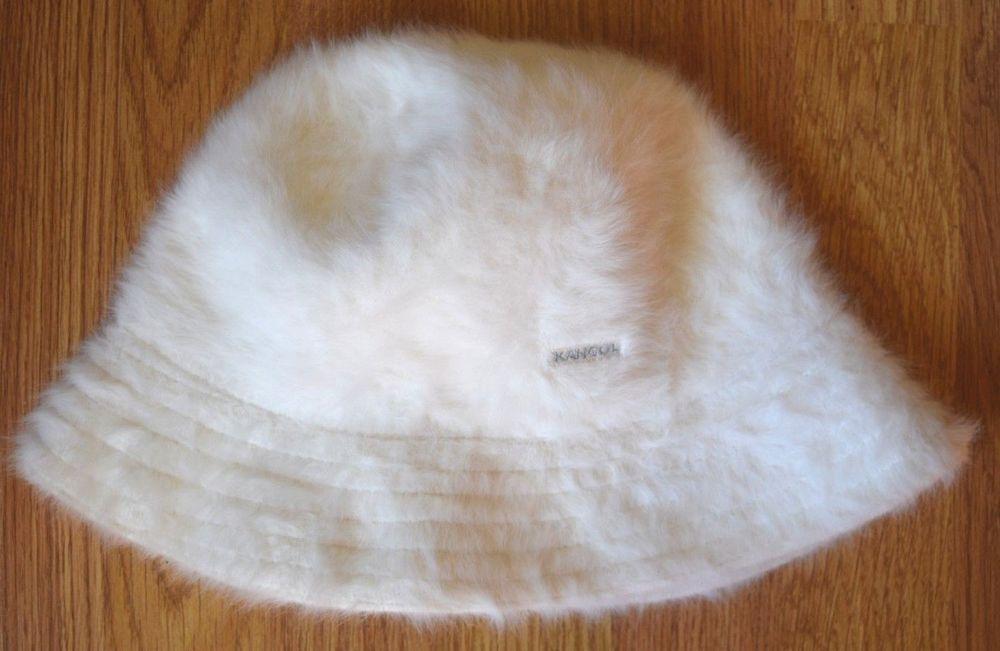 KANGOL Furgora Trilby White Furry Bucket Hat 2330BC03 Womens L  fashion   clothing  shoes  accessories  womensaccessories  hats (ebay link) 45ed8ed9b279