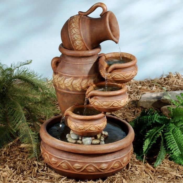 10 Relaxing And Decorative Outdoor Water Fountains Backyard