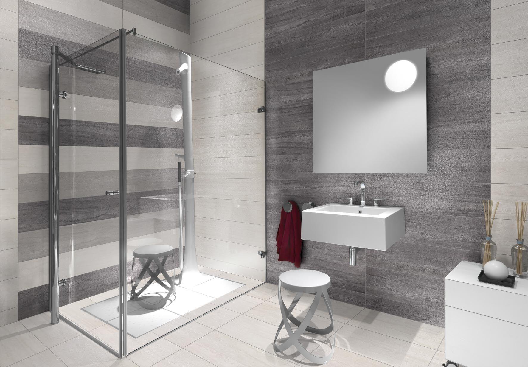 Rivestimenti Bagni Moderni Grigio rivestimento bagno moderno grigio