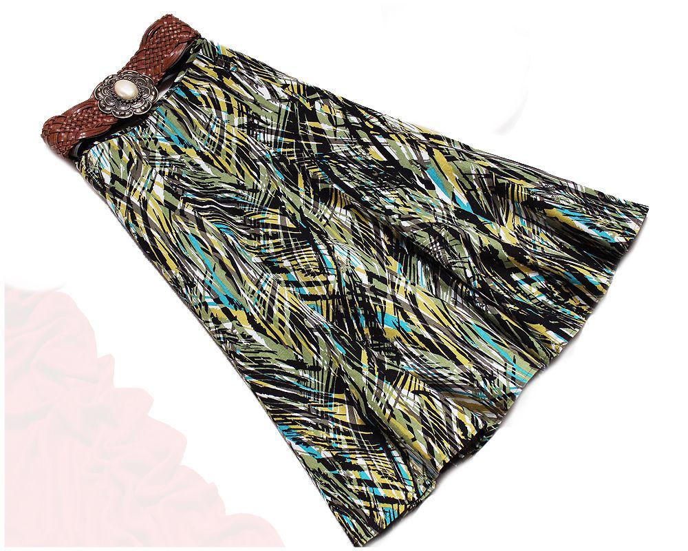 M Co Lniana Spodniczka Kolorowa Midi Wzor 38 M 7194391105 Oficjalne Archiwum Allegro Tie Dye Tie Dye Skirt Dye