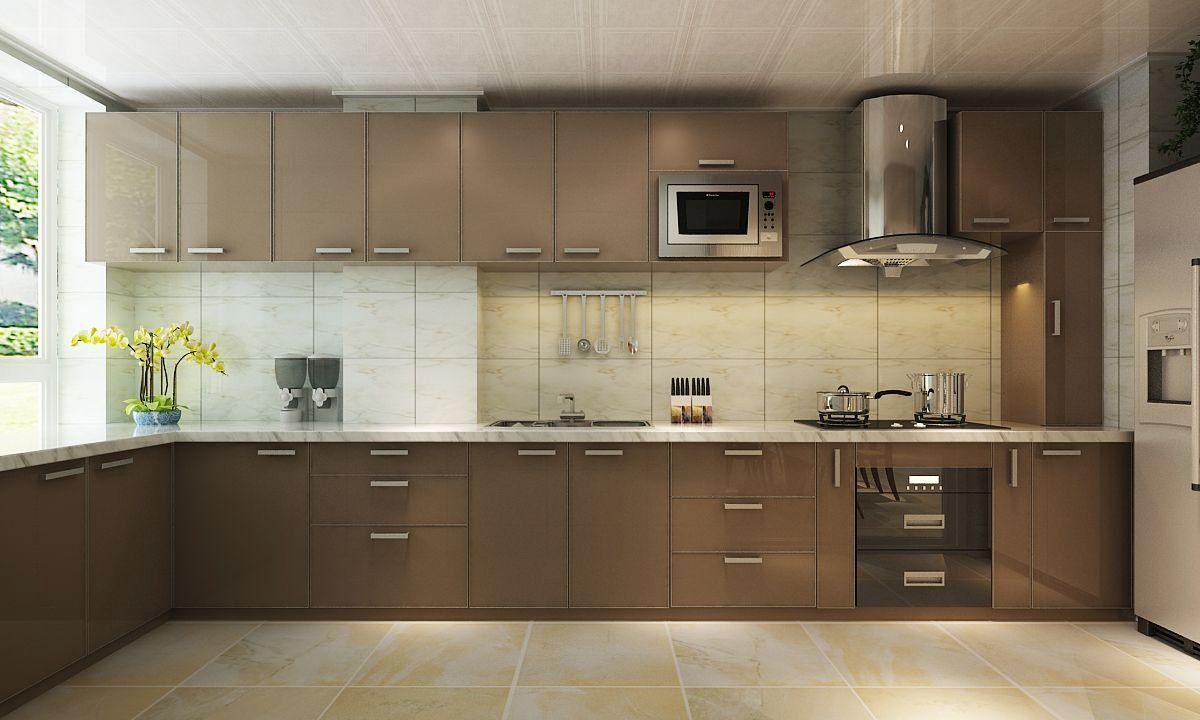 www.flapto.com/... #Interiors #designer #Homeinterior #Lshapekitchen  | 1000
