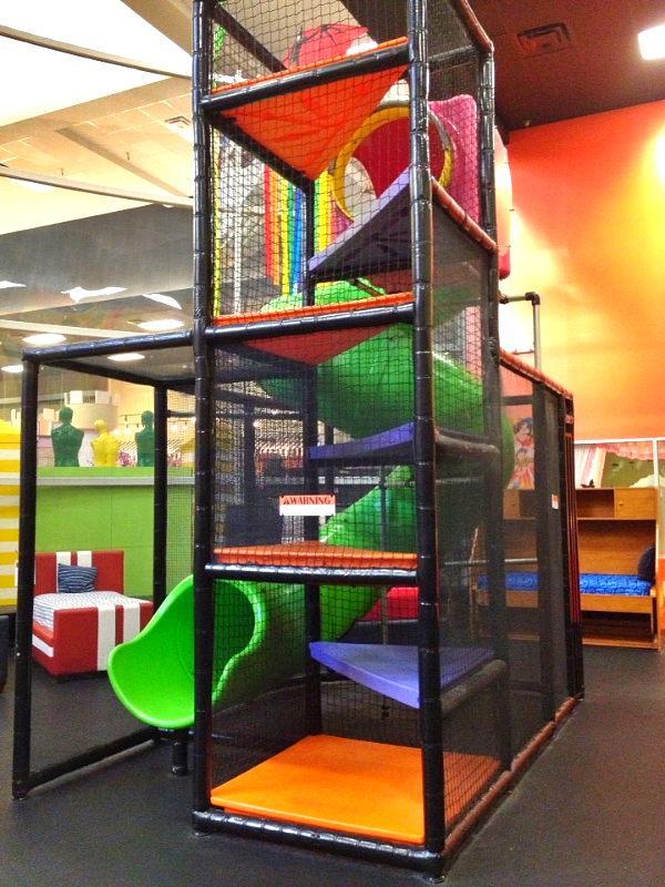 Here At Gallery Furniture We Have A Wonderful Indoor Playground For Your Kids To Enjoy While You