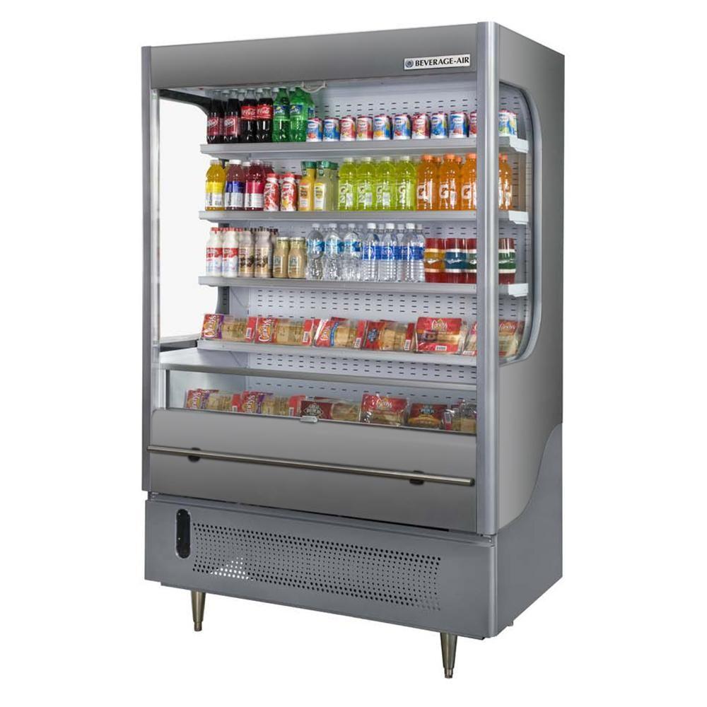 Beverage Air Vm18 1 G Vuemax 51 Gray Air Curtain Merchandiser