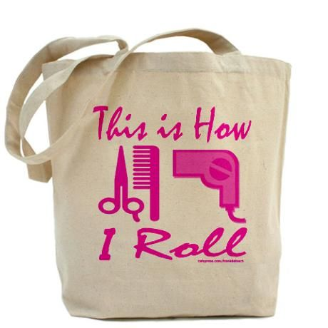 Tote Bag Funny Hairdresser Beautician Saying Stylist Gifts For Womens Tee