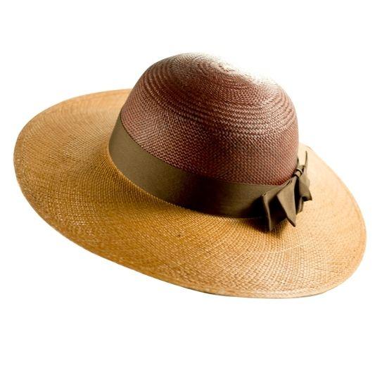 53128708049c6 Mallorca by PRYMAL. Panama Hat 100% Handmade in Ecuador - Toquilla Straw  Brown Bicolor  85