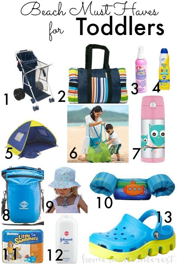 All the important things you need for your baby, toddler ...