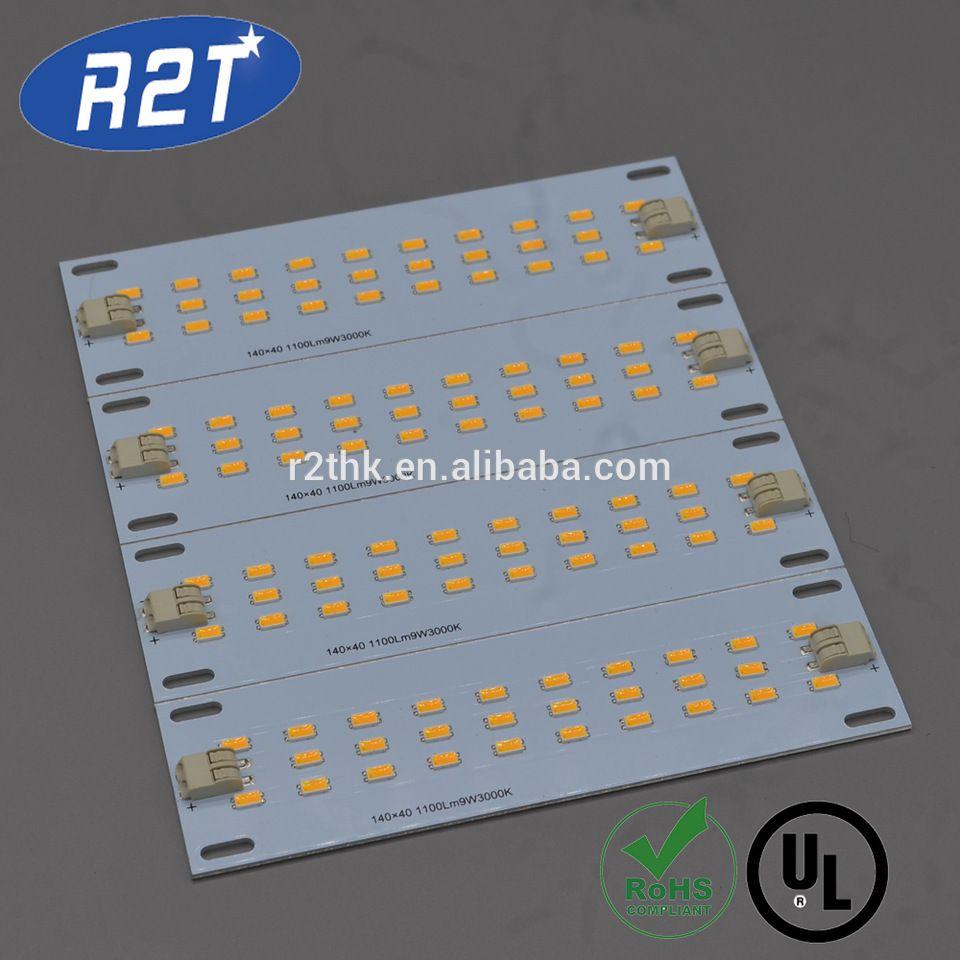 Led Grow Light Strips Module Pcba With Samsung Lm561c S6 3000kevin Copper Prototype Pcb Universal Boardled Printed Circuit Board