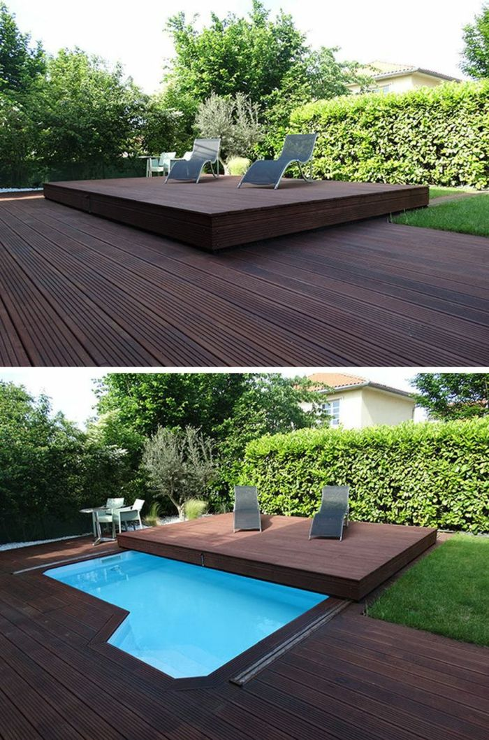 1001 ideas de piscinas peque as para tu patio home for Piscinas desmontables para patios pequenos