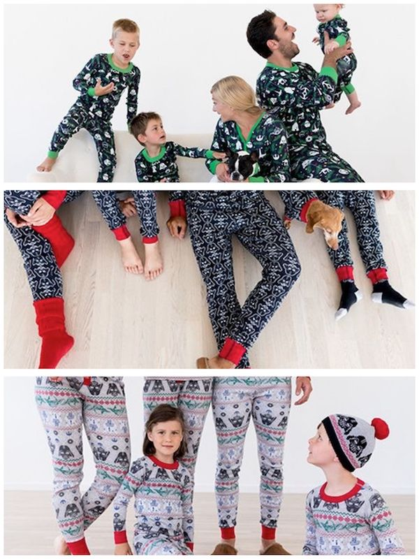 hanna andersson star wars family matching holiday pajamas - Star Wars Christmas Pajamas