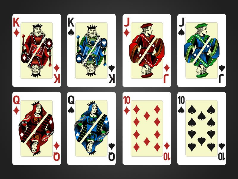 Playing Card Designs | Playing cards design for Athenee' Palace ...
