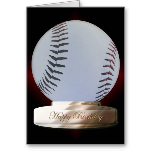 Happy Birthday Son Baseball Postcard Zazzle Com With Images