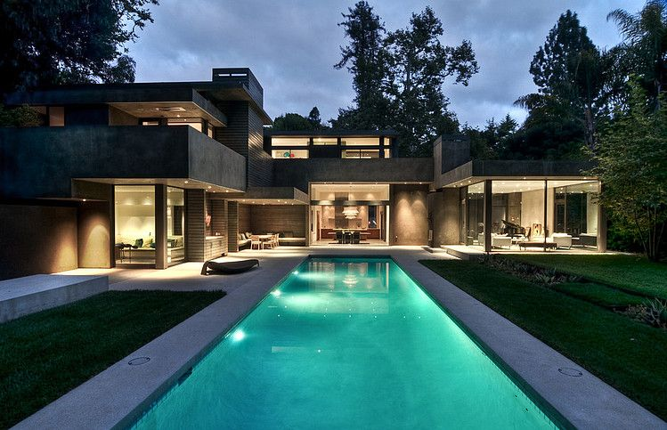Architecture Houses Modern santa monica residencechu gooding architects | architecture