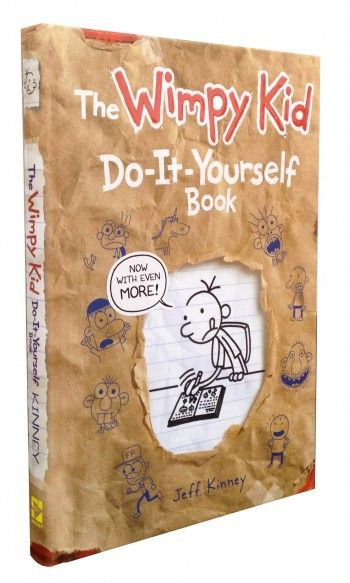 The wimpy kid do it yourself book now you can write your own the wimpy kid do it yourself book now you can write your own bestseller solutioingenieria Images