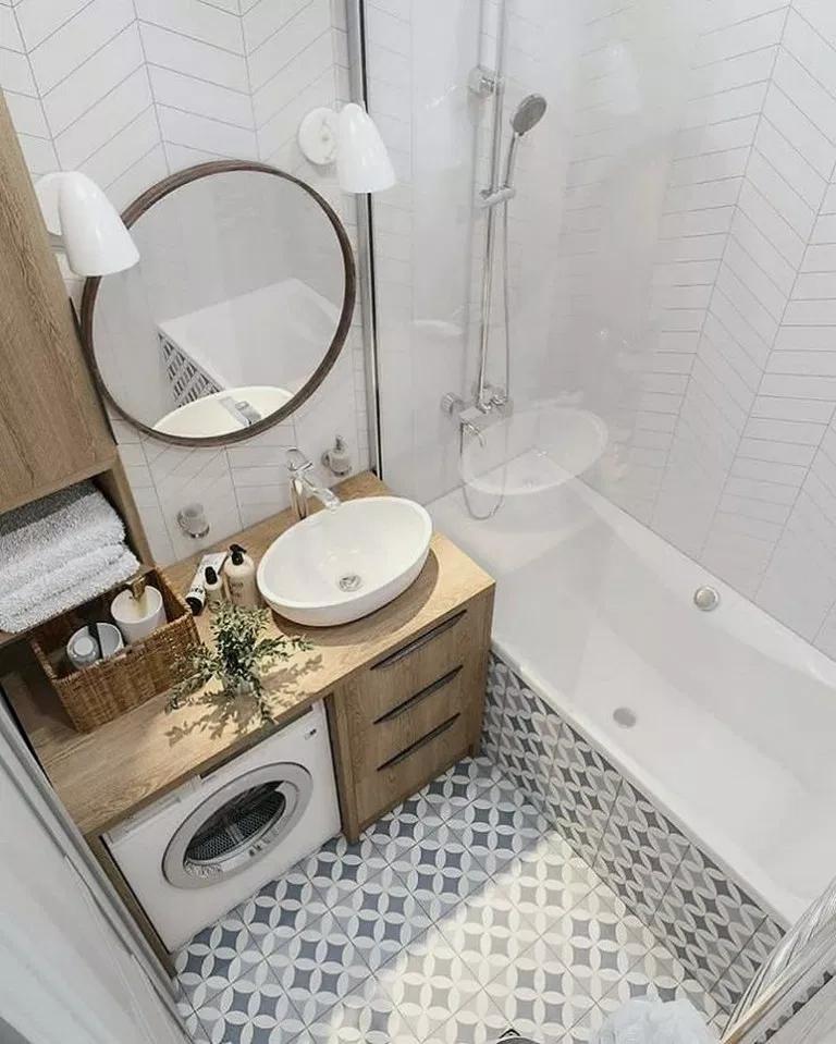 25 Modern Bathroom Decor Ideas Match With Your Home Design Style Modernbathroom Bathroo Small Apartment Bathroom Bathroom Design Small Modern Bathroom Decor