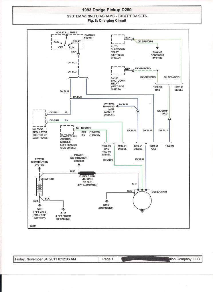 Pin By Ronna Dutton On First Gen Diagram Dodge Pickup System