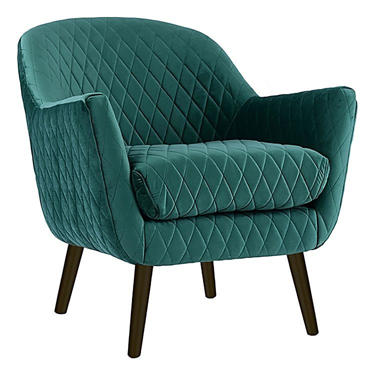 Club Armchair, Black Leg