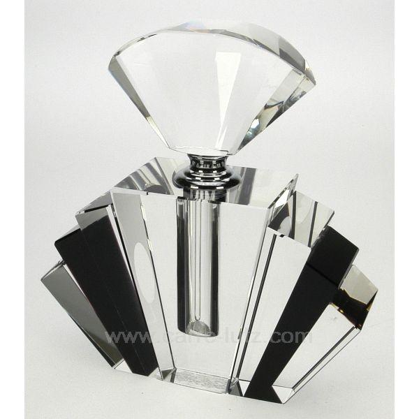 FLACON DE PARFUM | Flacon de parfum cristal noir