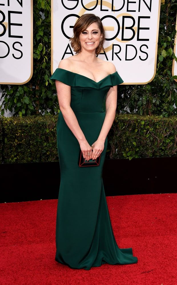 b1b958713fc1 Golden Globe Awards 2016 - Rachel Bloom in Christian Siriano