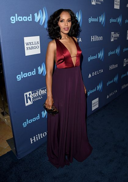 Kerry Washington attends the 26th Annual GLAAD Media Awards at The Beverly Hilton Hotel on March 21, 2015 in Beverly Hills, California.