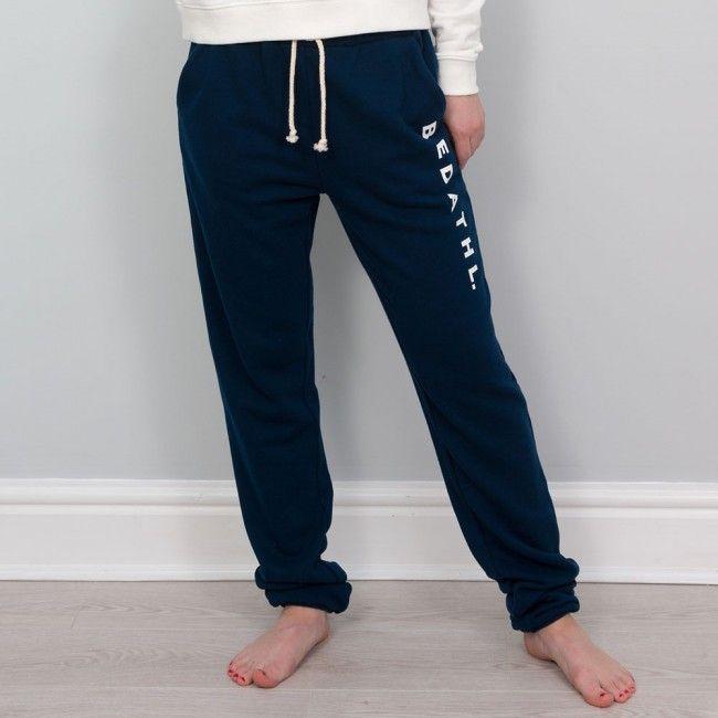 Autumn - Fleece Jog Pants - Navy A