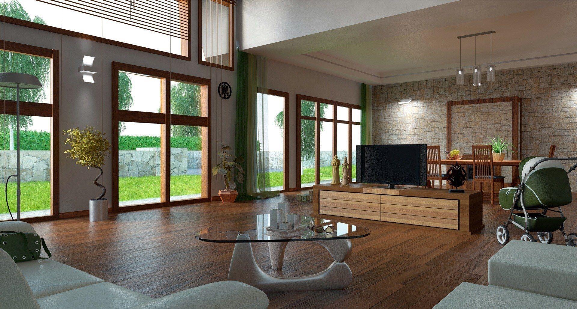 Salon Moderno Decoracion Via Planreforma Accesorios Mesas De  # Muebles Favorita Urgell