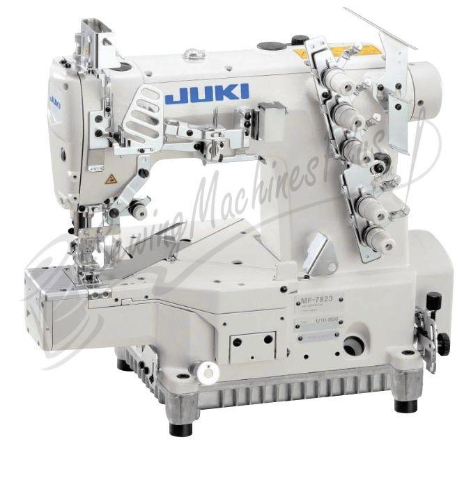 Juki Mf 7923 3 Needle Coverstitch Industrial Machine Cylinder Bed W Table Motor Coverstitch Machine Sewing Machine Sewing Machines Best