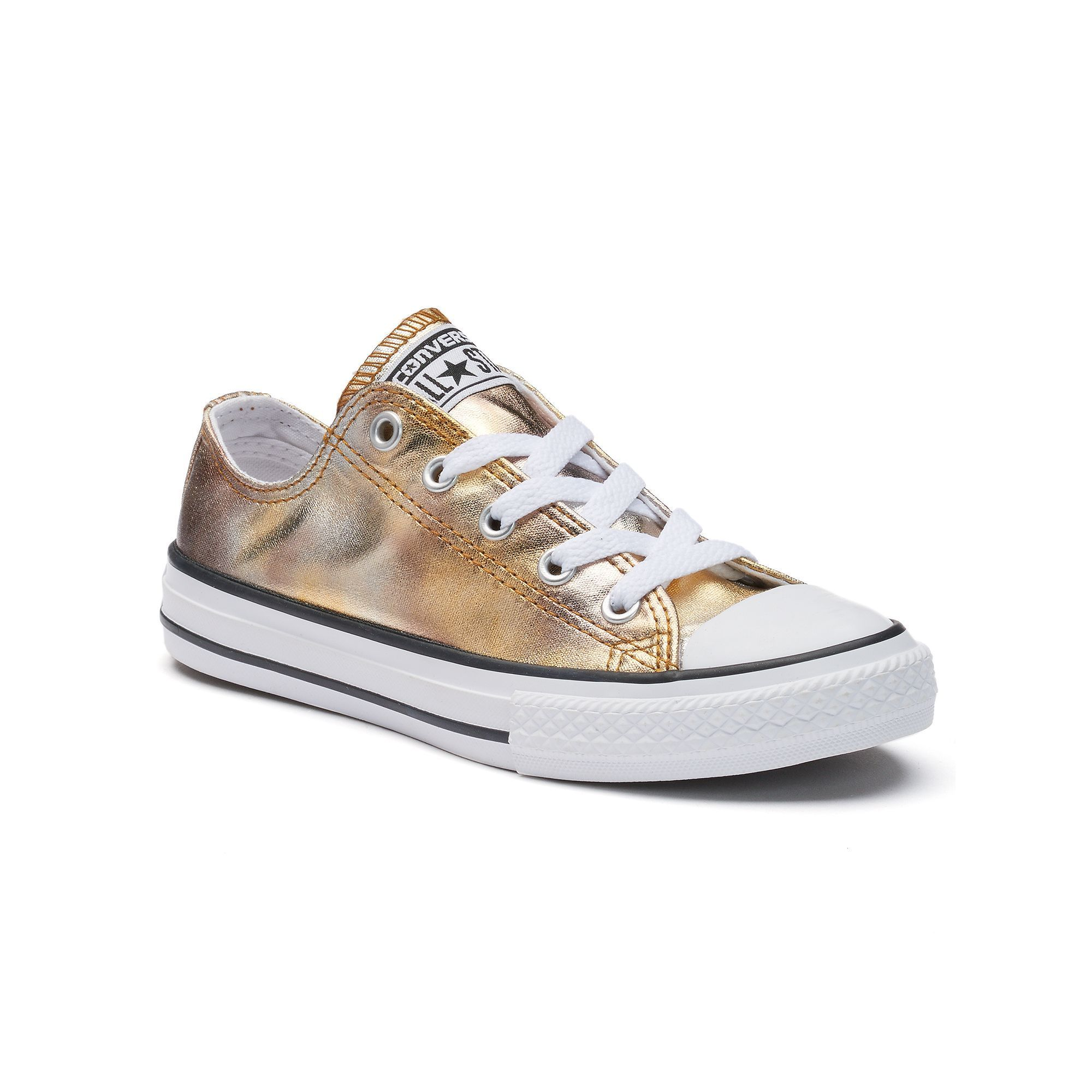 Girls  Converse Chuck Taylor All Star Metallic Sneakers in 2019 ... 3c6e150bd