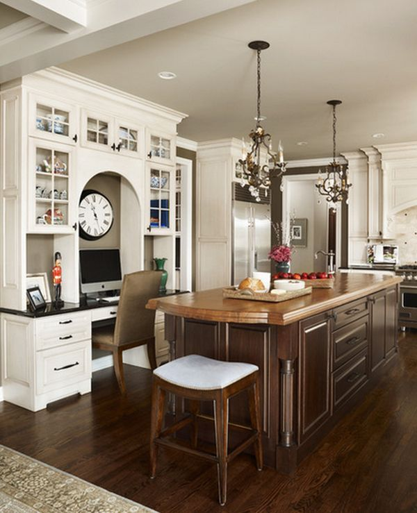 An Office Space Can Be Added To Any Room Of The Home. Dura Supreme  Cabinetry Designed By Lindsey Neumann Of Woodmaster Kitchens In St.