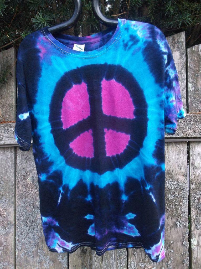 Peace Sign Tie-Dye