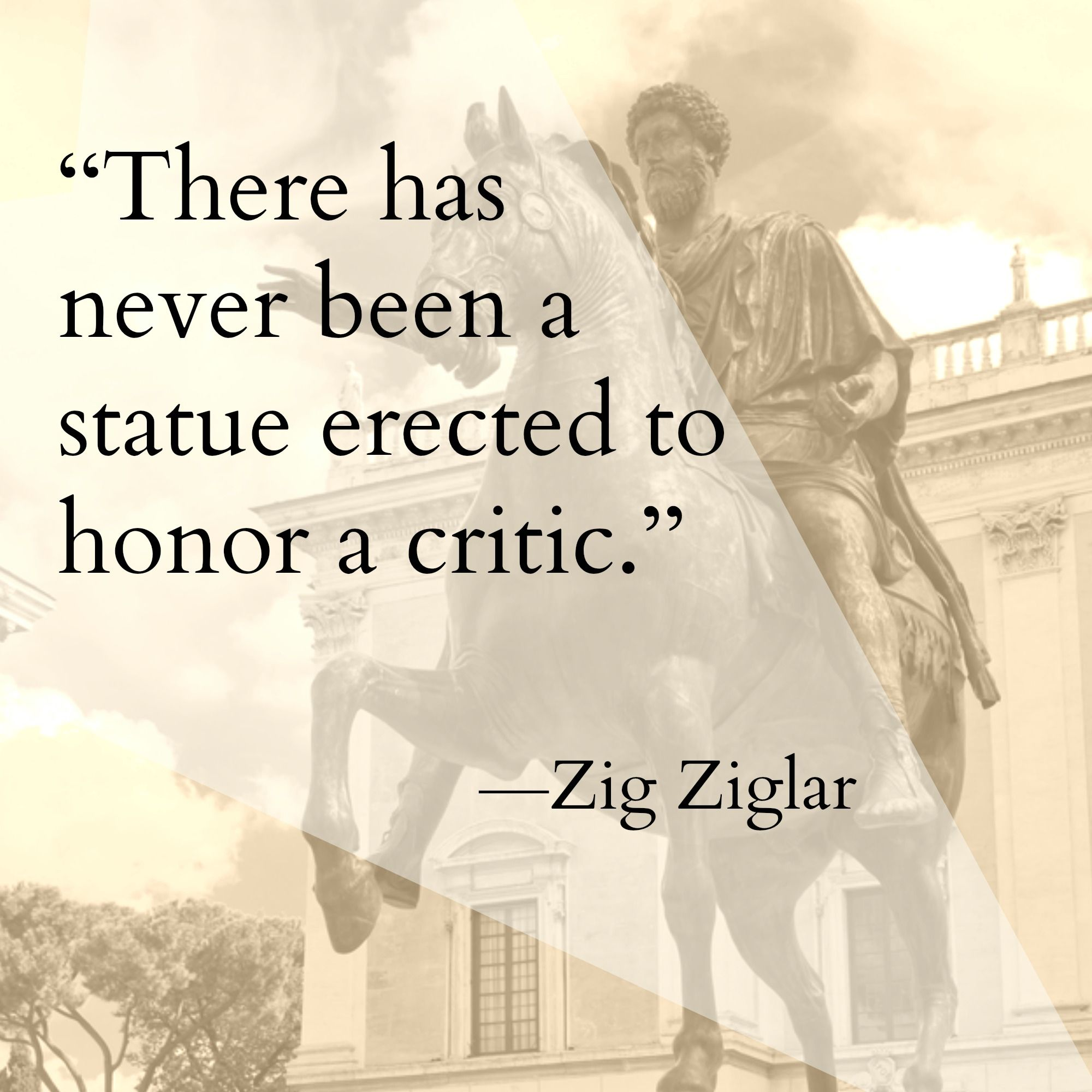 Statue Quotes Best Home  Pinterest  Zig Ziglar And Zig Ziglar Quotes