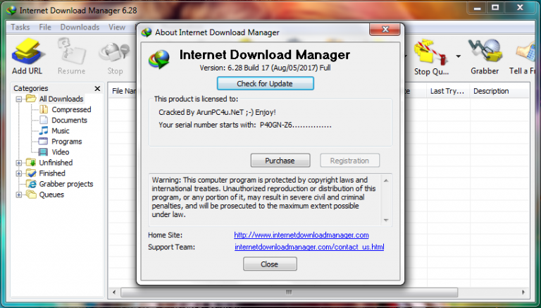 Free Download Download Manager 6.33 Build 1