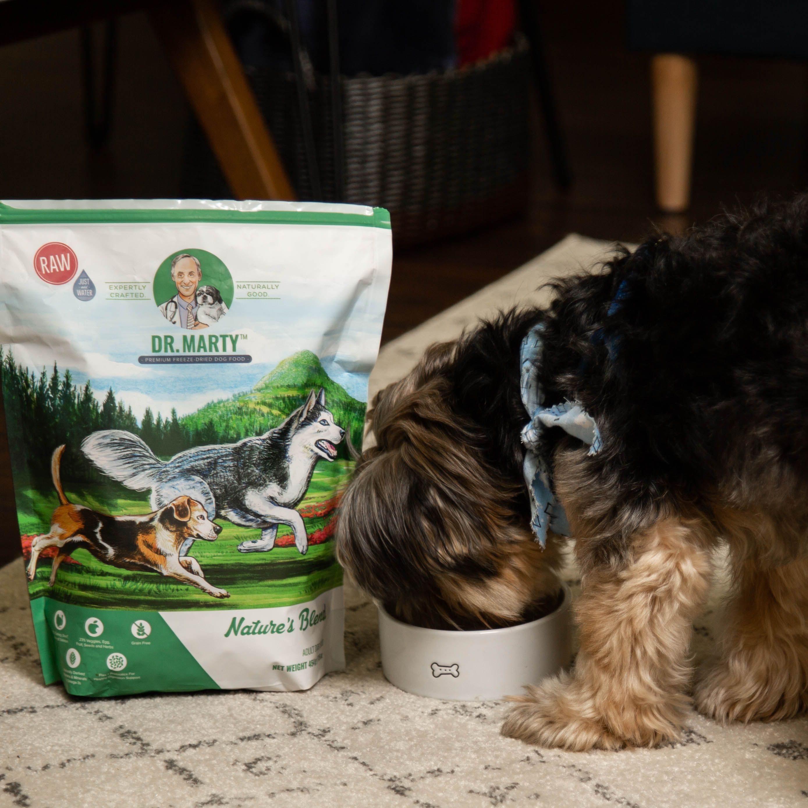 Nature's Blend Freeze dried dog food, Dog food recipes