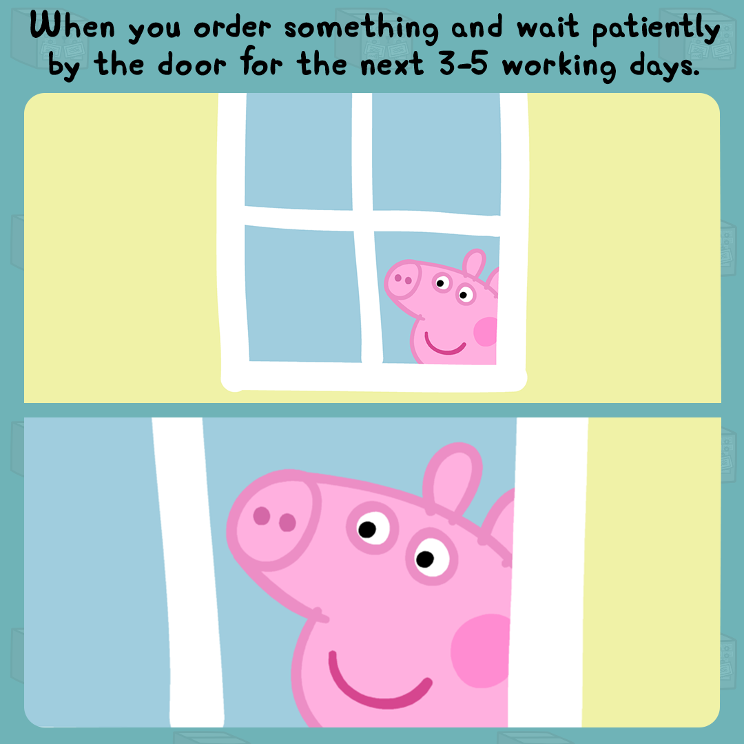 We Ve All Been There Peppa Pig Memes Pig Memes Peppa Pig Birthday