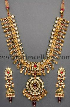 Trendy Kundan Tussi Necklace Indian bridal Indian jewelry and Jewel