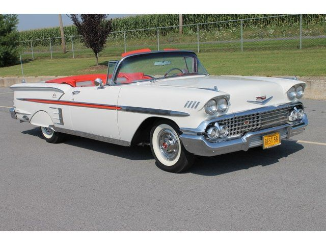 Chevy Reaper For Sale >> 1958 Chevrolet Impala Convertible | Chevrolet impala, American classic cars, Chevrolet