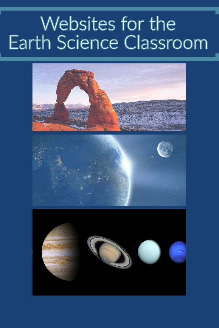 Earth Science Class Websites