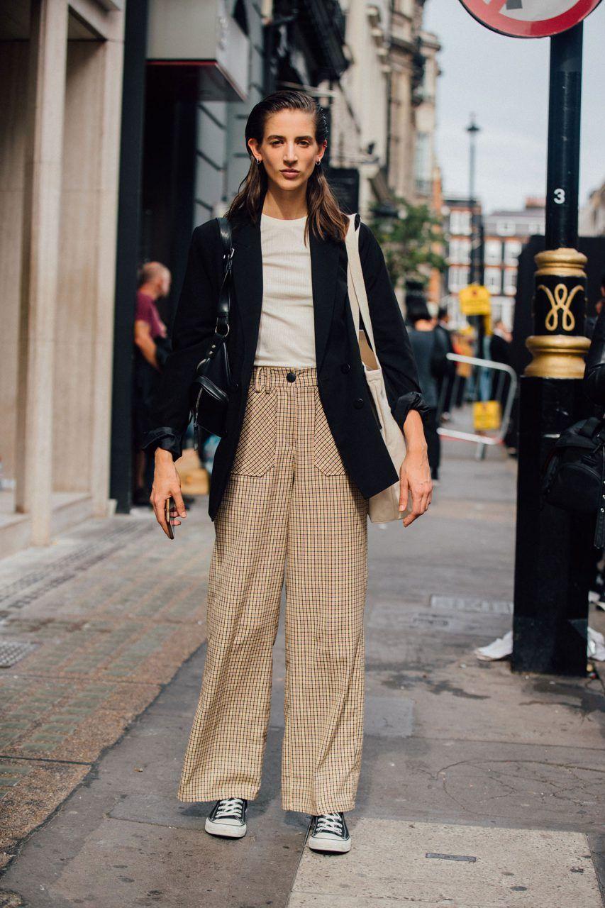2019 year looks- Fashion london week fall models off duty
