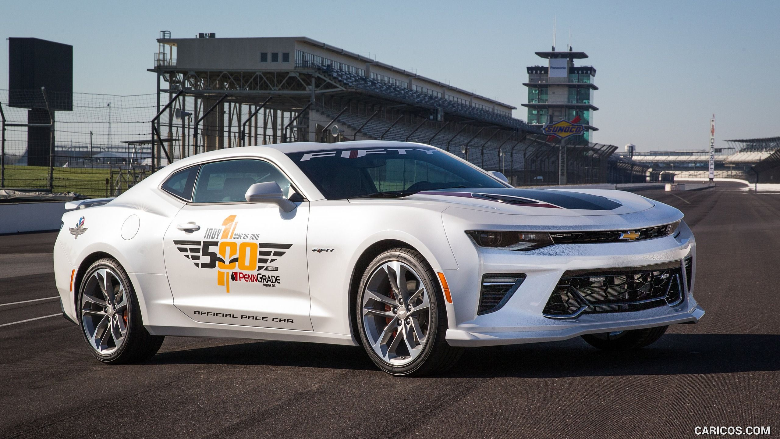 2016 Chevrolet Camaro SS Indy 500 Pace Car (2017 50th Anniversary Special Edition) Wallpaper