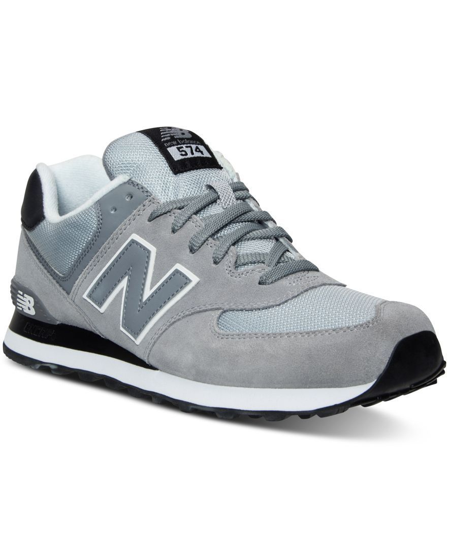 brand new a9999 d5529 New Balance Men's 574 Core Plus Casual Sneakers from Finish ...