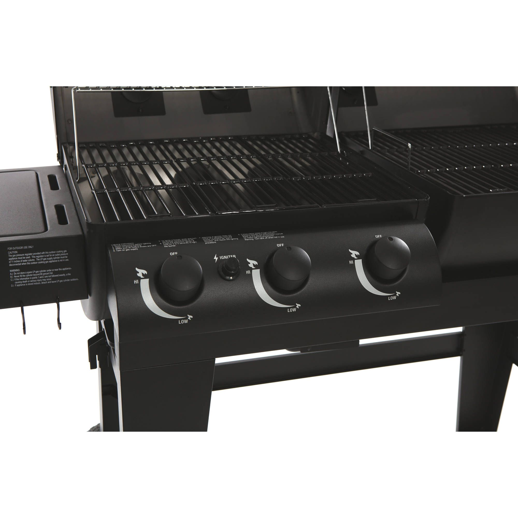 Char Griller Dual Function Gas