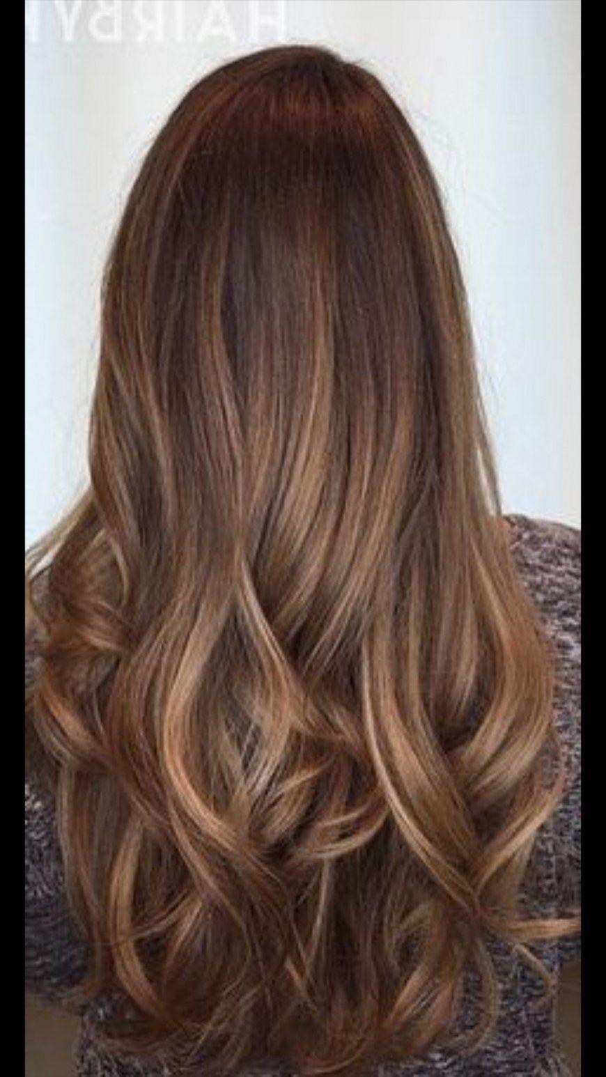 Strähnen braune haare mit blonde Dunkle haare