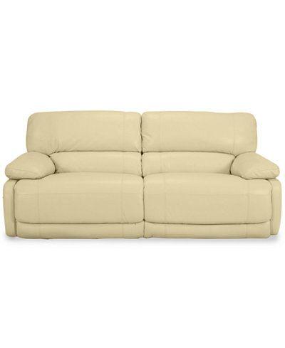 Astounding 1480 Nina Leather Dual Power Reclining Sofa Diana Pdpeps Interior Chair Design Pdpepsorg